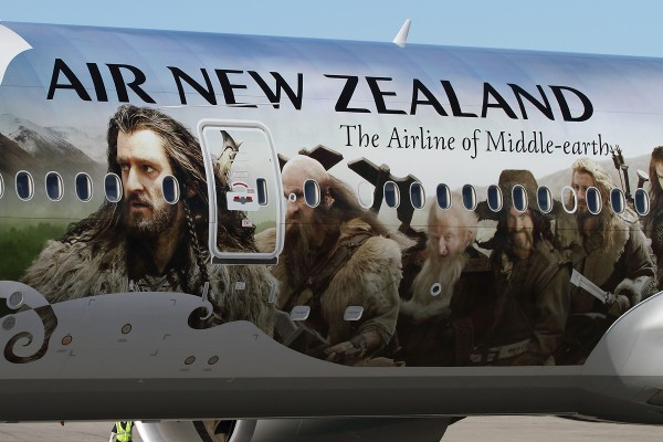Air New Zealand - Hobbit